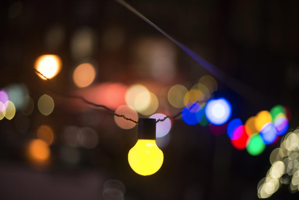 תמונה של גרילנדת אורות