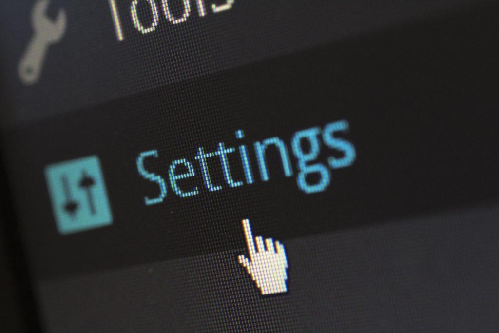 הגדרות במחשב